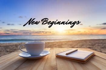 Each new moment holds an opportunity for a new beginning.